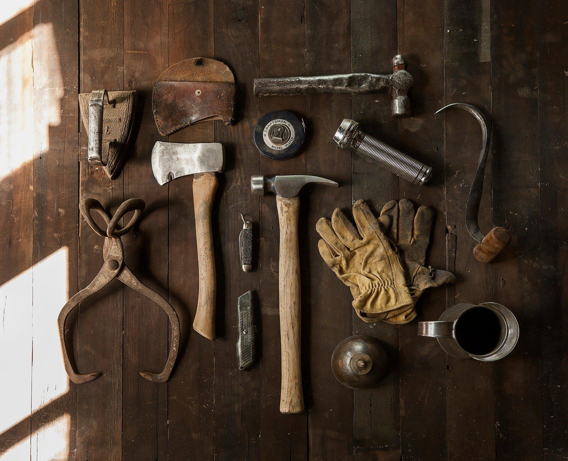 Como organizar as ferramentas