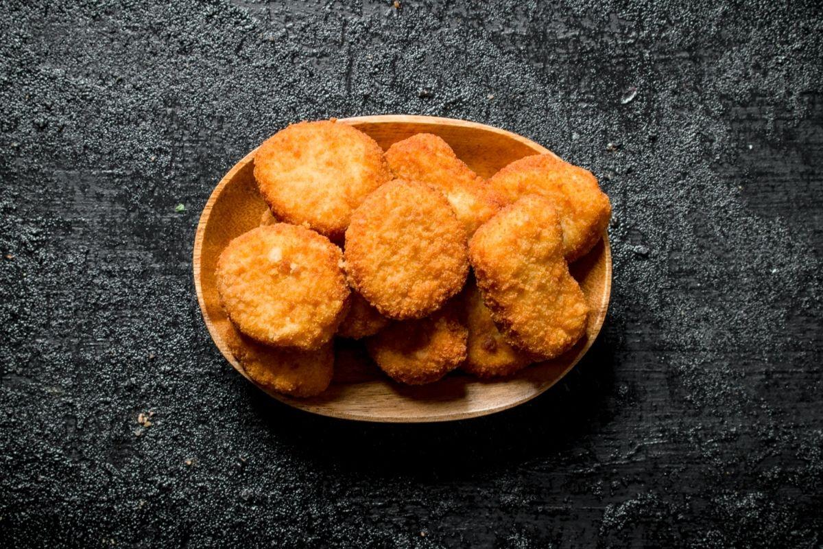 Nuggets de frango crocante